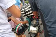 Mặc áo chống nắng đi xe máy, người phụ nữ mang bầu gặp tai nạn kinh hoàng: Lời cảnh tỉnh cho chị em mỗi khi ra đường vào mùa hè
