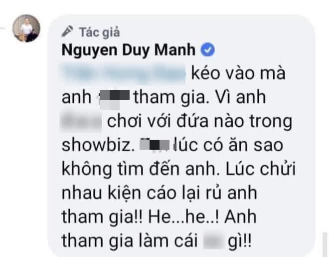 """Nghi vấn Phi Nhung gọi điện xúi"""" Duy Mạnh đáp trả bà Phương Hằng, nam ca sĩ vừa hé lộ và tự khai luôn phốt chờ bị vạch trần?-2"""