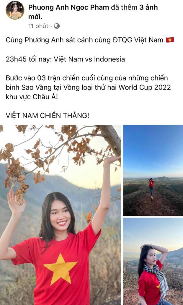 Sao Việt nhuộm đỏ Facebook trước giờ G đội tuyển Việt Nam gặp Indonesia: Jack và dàn mỹ nhân cực cuồng nhiệt, BB Trần hứa làm 1 việc lầy lội-2