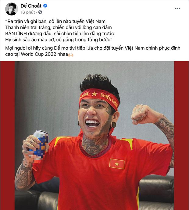 Sao Việt nhuộm đỏ Facebook trước giờ G đội tuyển Việt Nam gặp Indonesia: Jack và dàn mỹ nhân cực cuồng nhiệt, BB Trần hứa làm 1 việc lầy lội-8