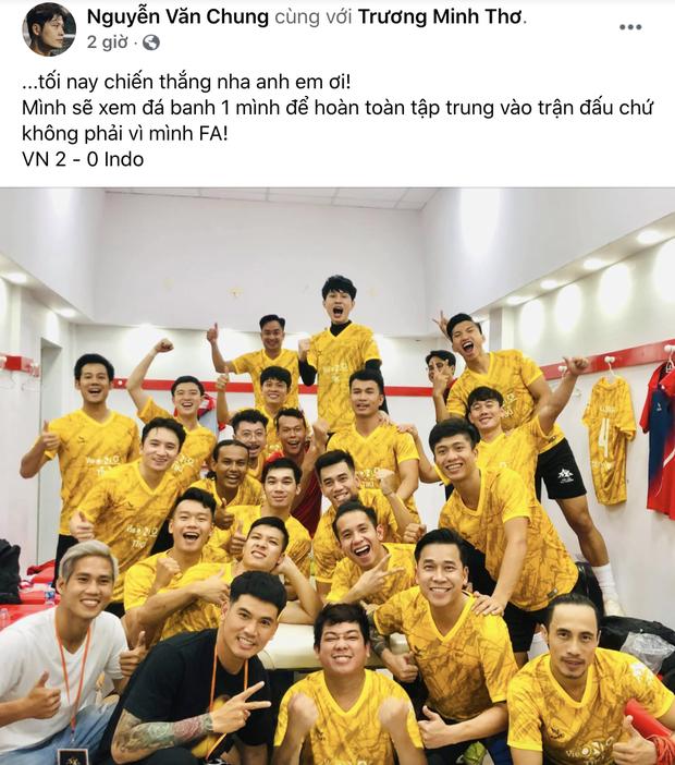 Sao Việt nhuộm đỏ Facebook trước giờ G đội tuyển Việt Nam gặp Indonesia: Jack và dàn mỹ nhân cực cuồng nhiệt, BB Trần hứa làm 1 việc lầy lội-10