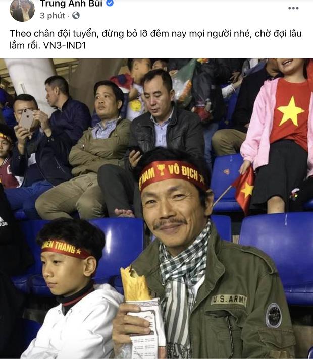 Sao Việt nhuộm đỏ Facebook trước giờ G đội tuyển Việt Nam gặp Indonesia: Jack và dàn mỹ nhân cực cuồng nhiệt, BB Trần hứa làm 1 việc lầy lội-9