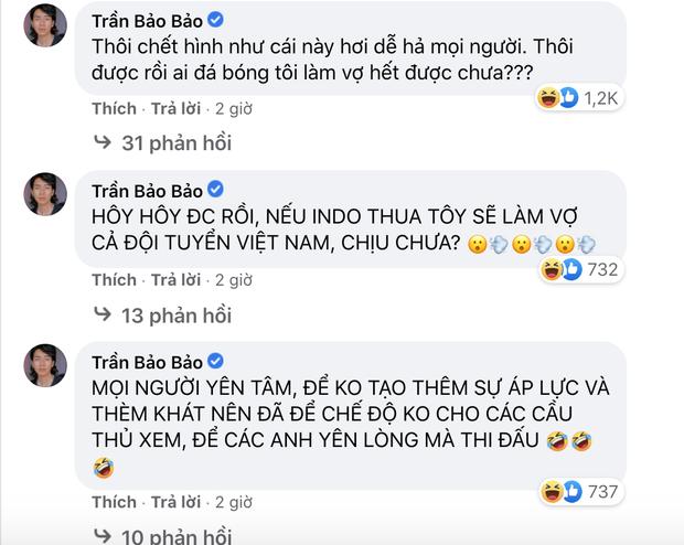Sao Việt nhuộm đỏ Facebook trước giờ G đội tuyển Việt Nam gặp Indonesia: Jack và dàn mỹ nhân cực cuồng nhiệt, BB Trần hứa làm 1 việc lầy lội-12