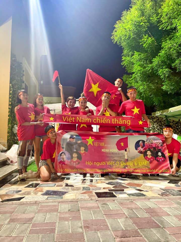 Người Việt Nam tại UAE vượt qua khó khăn thời Covid-19, nô nức chuẩn bị cổ vũ đội tuyển-3