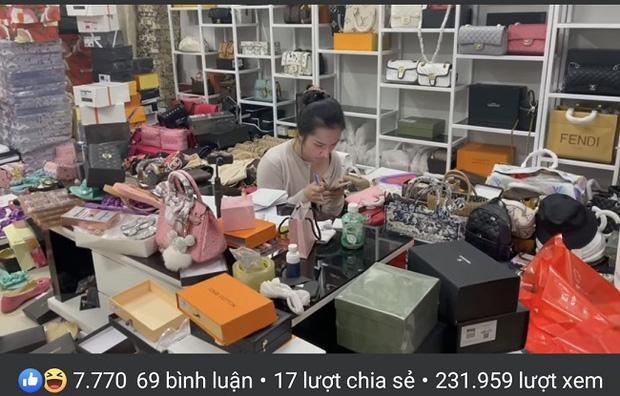Bất chấp bị đình chỉ vì bán hàng giả, vợ Lê Dương Bảo Lâm vẫn tiếp tục livestream bán hàng công khai gây phẫn nộ trên MXH-2