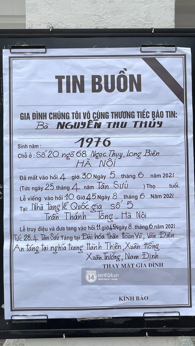 Tang lễ Hoa hậu Nguyễn Thu Thuỷ: Nụ cười trên di ảnh người quá cố gây xót xa, nhà tang lễ ngập tràn không khí u buồn-10