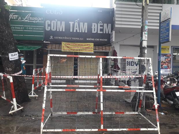 TP.HCM: Phong toả quán cơm tấm và khu Mả Lạng ở quận 1 vì 4 người trong gia đình mắc Covid-19-3