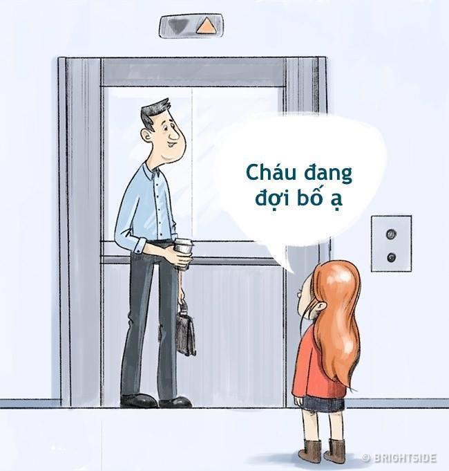 Gặp ông già xấu trong thang máy, cách xử lý thông minh đã giúp bé gái thoát nguy, bố mẹ bị một phen hú vía-4