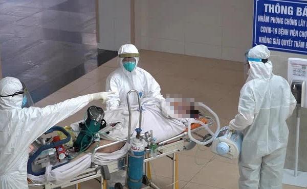 Hành trình đặt ECMO và chuyển chiến sĩ công an mắc COVID-19 về Bệnh viện Chợ Rẫy-5