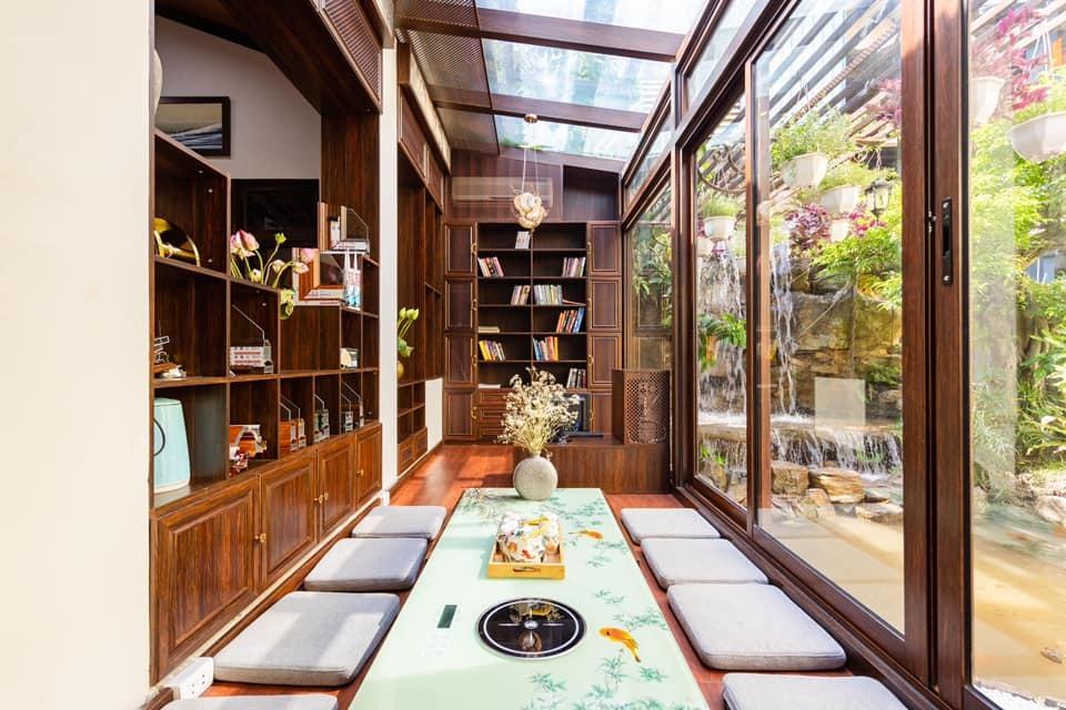 Người đàn ông Hà Nội xây nhà Nhật Bản từ nhôm kính tặng bạn học đặc biệt-8