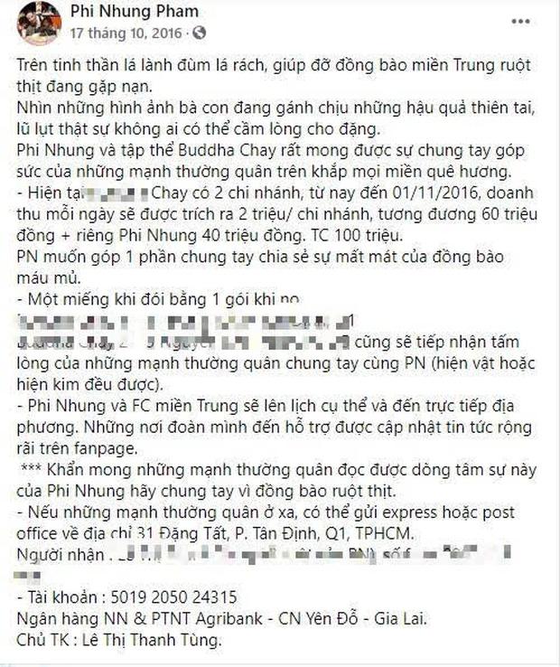 """Phi Nhung bị netizen soi lại điểm bất thường trong 2 đợt kêu gọi từ thiện miền Trung, ngâm"""" sao kê 1,8 tỷ suốt 5 năm chưa công khai?-1"""