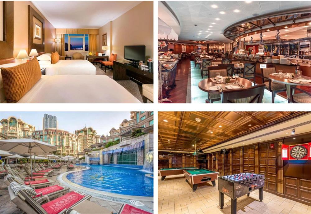 Choáng ngợp với hình ảnh khách sạn 5 sao mà đội tuyển Việt Nam ở tại Dubai-3