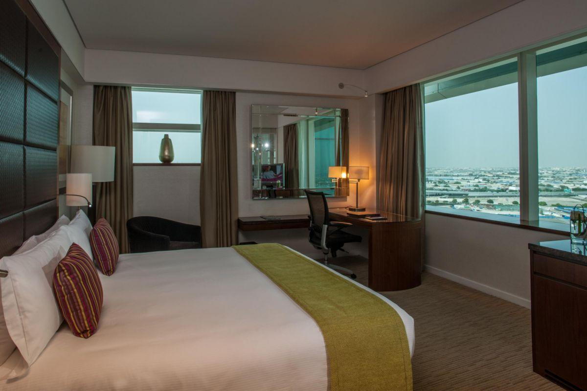 Choáng ngợp với hình ảnh khách sạn 5 sao mà đội tuyển Việt Nam ở tại Dubai-5