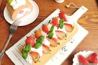 Cách làm bánh bông lan cuộn dâu tây vừa mềm xốp, lại thơm ngon cực phẩm như ngoài hàng