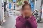 Người phụ nữ không đeo khẩu trang phi thẳng xe máy vào khu vực cách ly, lớn tiếng: 'Đeo khẩu trang là những người bị truy nã'
