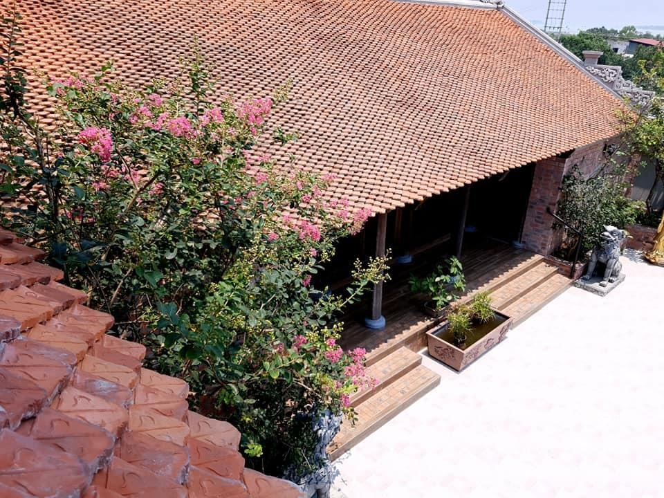 Nhà cổ nằm trên nóc biệt thự gần 500m2 ở Hà Nội-2