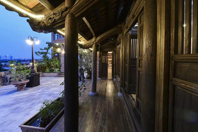 Nhà cổ nằm trên nóc biệt thự gần 500m2 ở Hà Nội-8