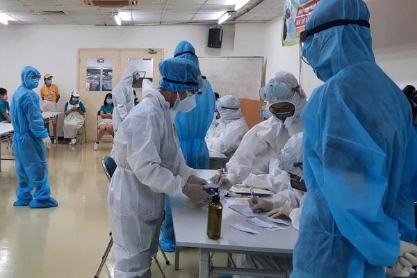TP.HCM: Phát hiện nữ công nhân làm việc tại khu chế xuất Tân Thuận mắc Covid-19-1