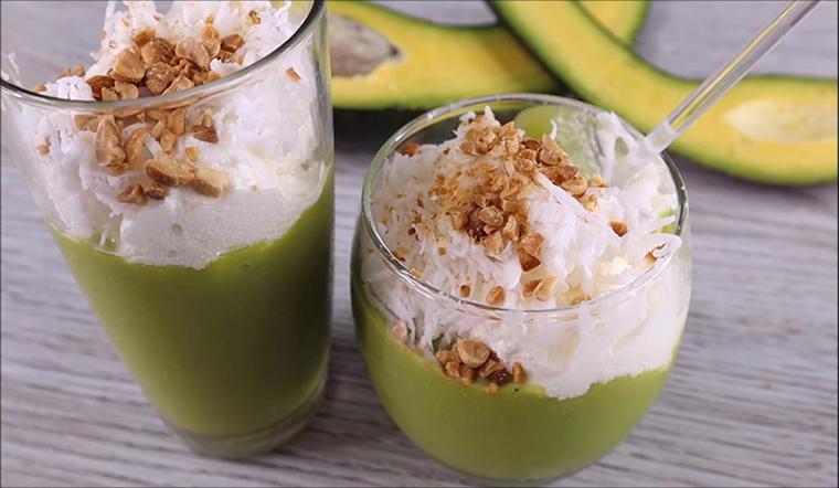Cách làm kem bơ dừa đơn giản mà bao phê, ăn một miếng là mát mẻ sảng khoái giữa mùa hè nóng bức-6