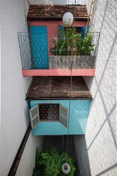 Căn nhà bên ngoài lụp xụp, rộng chỉ 3m nhưng bên trong lại có thiết kế đặc biệt, chỉ nhìn thôi đã mê rồi-5