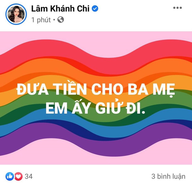 Lâm Khánh Chi bất ngờ đăng trạng thái giữa đêm rồi xóa vội, bị nghi ẩn ý vụ Phi Nhung - Hồ Văn Cường-1