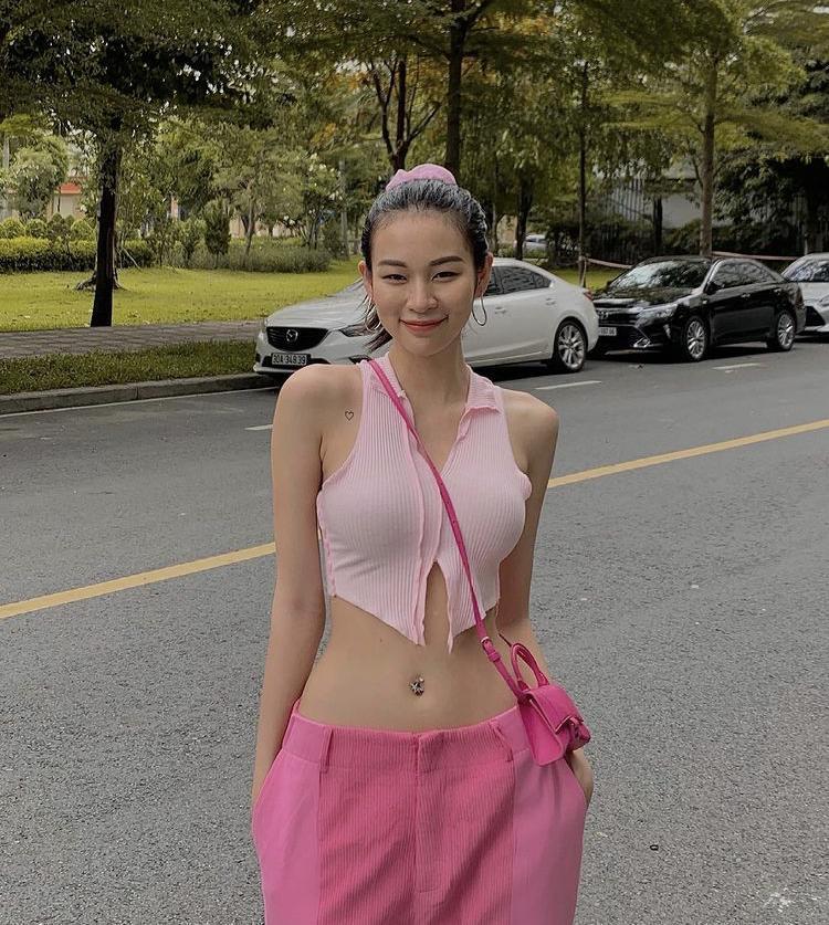 Muốn mặc tông hồng không sến, học ngay Kỳ Duyên - Minh Triệu!-3