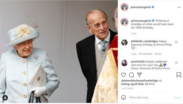 Vợ chồng Công nương Kate có động thái tinh tế nhân sinh nhật 100 tuổi của cố Hoàng tế Philip, trái ngược hoàn toàn với nhà Meghan-2