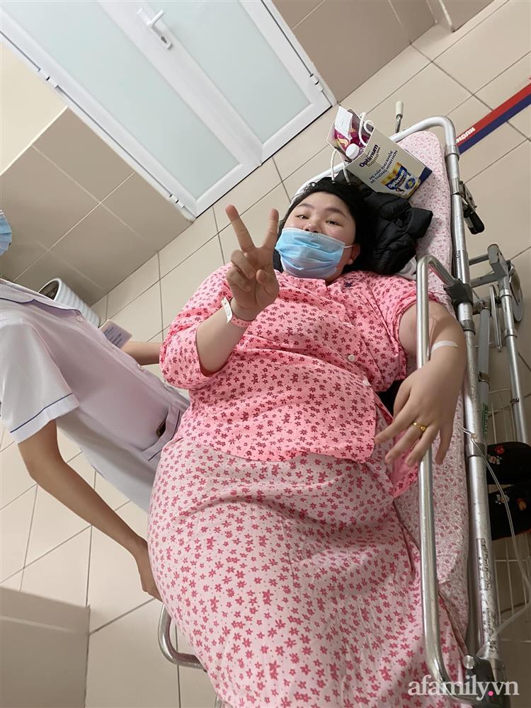 Mẹ Hà Nội đẻ lần đầu xinh đẹp vạn người mê, bầu lần 2 tăng vọt 40kg như bị biến hình khiến chồng đi công tác về không nhận ra vợ-8