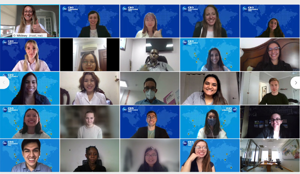 3 nữ sinh Việt giành ngôi Á Quân cuộc thi P&G CEO Challenge 2021 toàn cầu-2