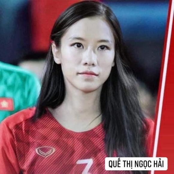 Dân mạng cười xỉu với loạt ảnh các cầu thủ đội tuyển bóng đá Việt Nam được chế ảnh thành con gái-7