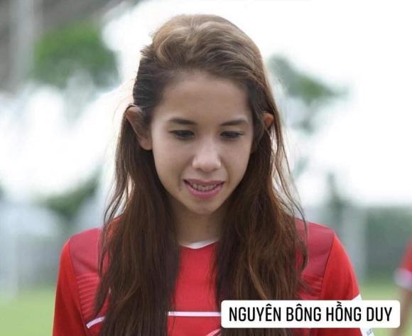 Dân mạng cười xỉu với loạt ảnh các cầu thủ đội tuyển bóng đá Việt Nam được chế ảnh thành con gái-9