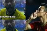 Tuyển Việt Nam nhảy múa, ca hát sau trận thắng Malaysia-1