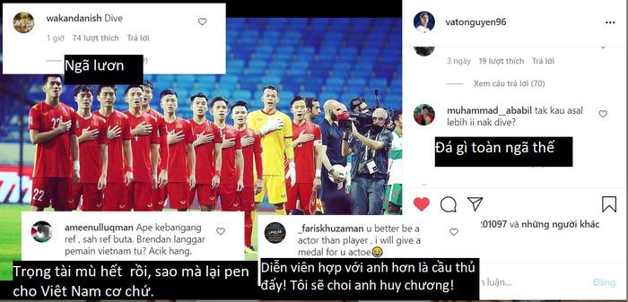 Cổ động viên Malaysia tấn công trang cá nhân Văn Toàn, khẳng định tiền đạo Việt Nam ngã lươn-1