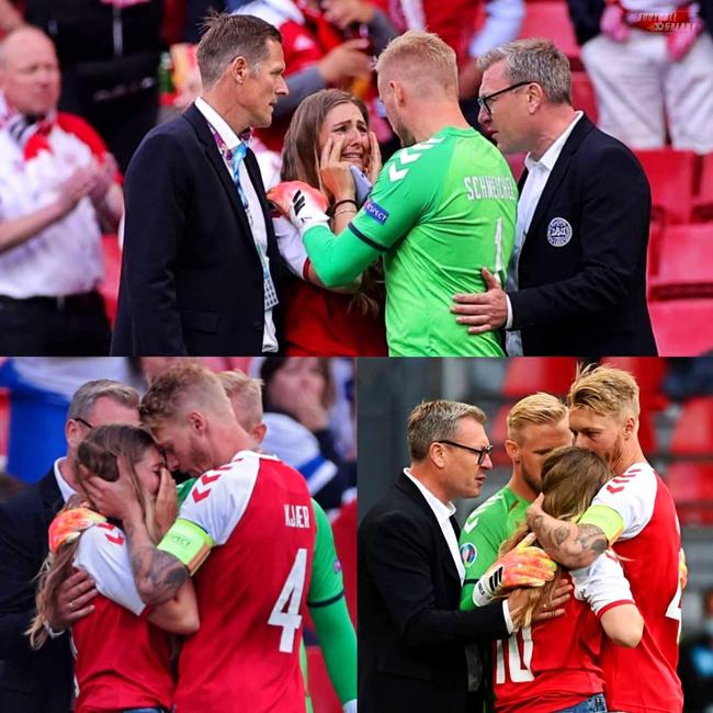 Tiền vệ Christian Eriksen đột quỵ ngay trong trận đấu Euro 2020: 10 năm một cuộc tình cùng cô nàng làm tóc-6