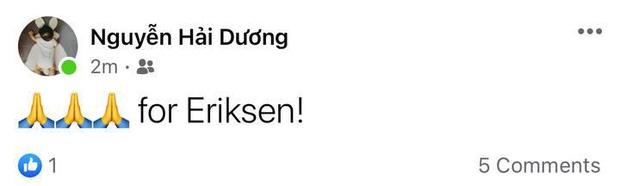 Dân mạng Việt đi từ bàng hoàng đến vỡ oà khi chứng kiến cầu thủ số 1 Đan Mạch đột quỵ ngay trên sân đấu Euro-8