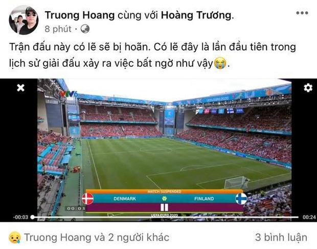 Dân mạng Việt đi từ bàng hoàng đến vỡ oà khi chứng kiến cầu thủ số 1 Đan Mạch đột quỵ ngay trên sân đấu Euro-7