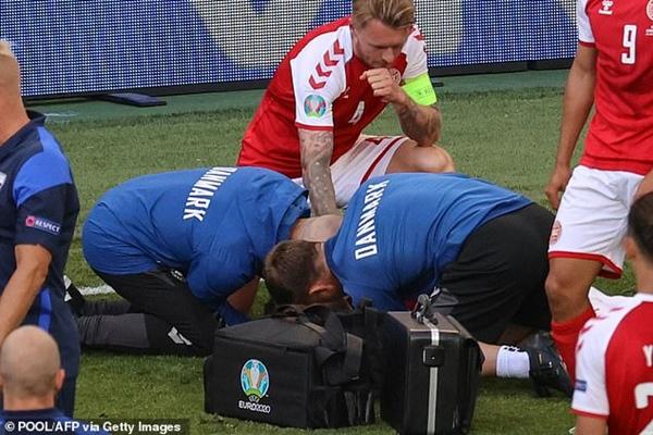 Người hùng thầm lặng giúp đồng đội Eriksen bị đột quỵ trên sân thoát án tử, chiếm trọn trái tim triệu khán giả-3