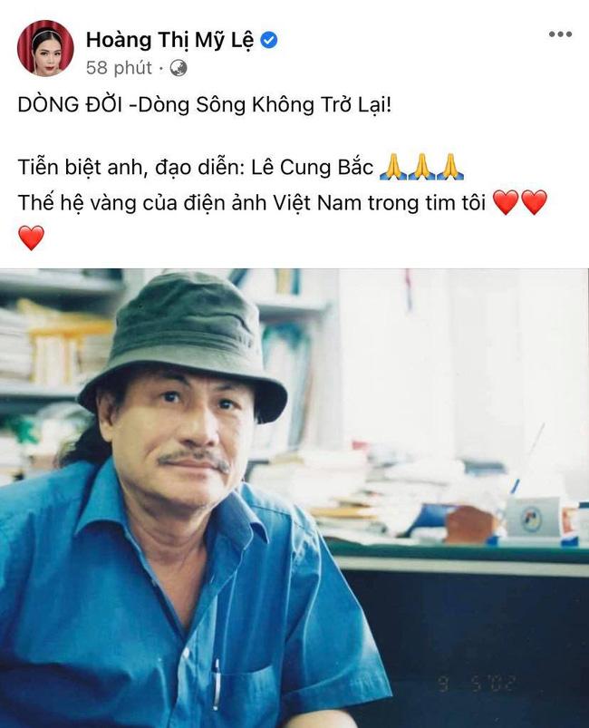Đạo diễn Lê Cung Bắc của Người đẹp Tây Đô qua đời, Việt Trinh và dàn sao Việt bàng hoàng thương tiếc-3