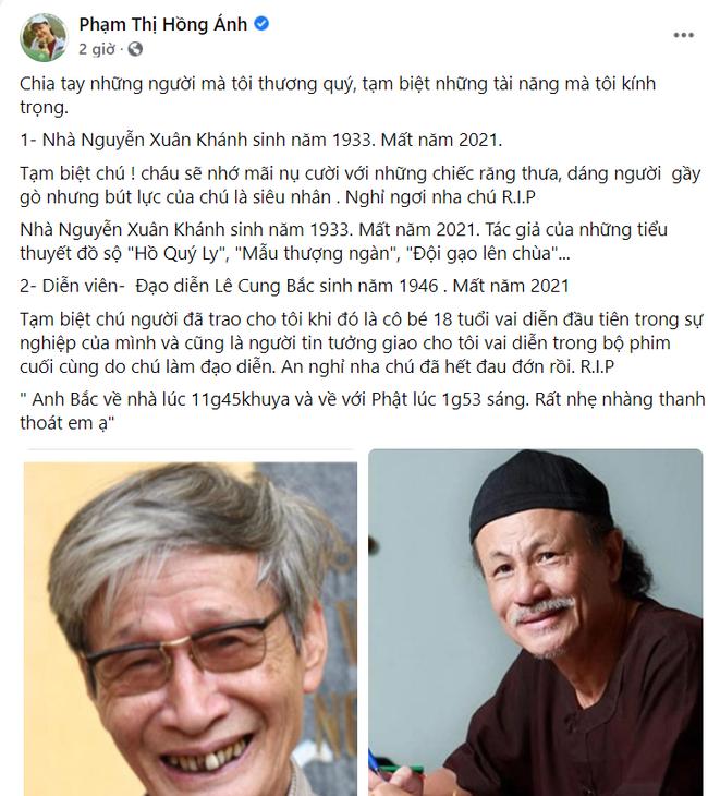 Đạo diễn Lê Cung Bắc của Người đẹp Tây Đô qua đời, Việt Trinh và dàn sao Việt bàng hoàng thương tiếc-5