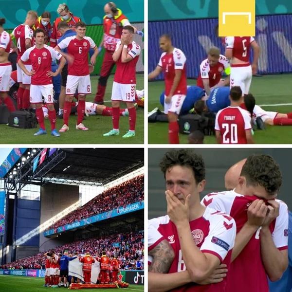 HLV tuyển Đan Mạch khóc trong họp báo, ngưỡng mộ ý chí phi thường của học trò: Không từ ngữ nào tôn vinh hết sự dũng cảm của họ-4