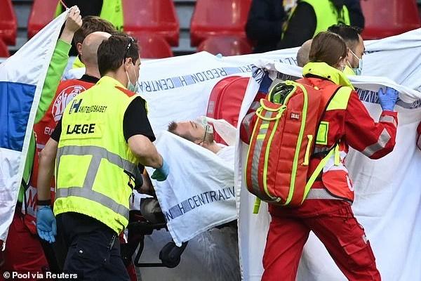 Dù đã tỉnh lại, Eriksen nhiều khả năng sẽ phải giải nghệ sau cú đột quỵ kinh hoàng tại Euro 2020-5