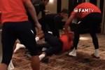 Xôn xao clip cầu thủ đội Malaysia đánh nhau sau chiến thắng của đội tuyển Quốc gia Việt Nam?