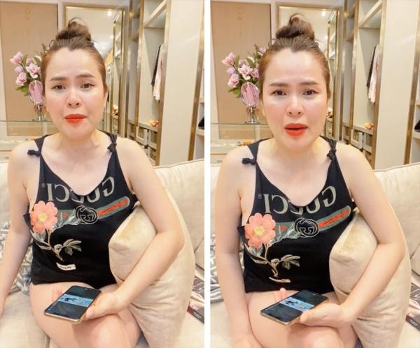 Hoa hậu đại gia livestream mắng Phi Nhung là mẹ nuôi vô cảm, khốn nạn-1