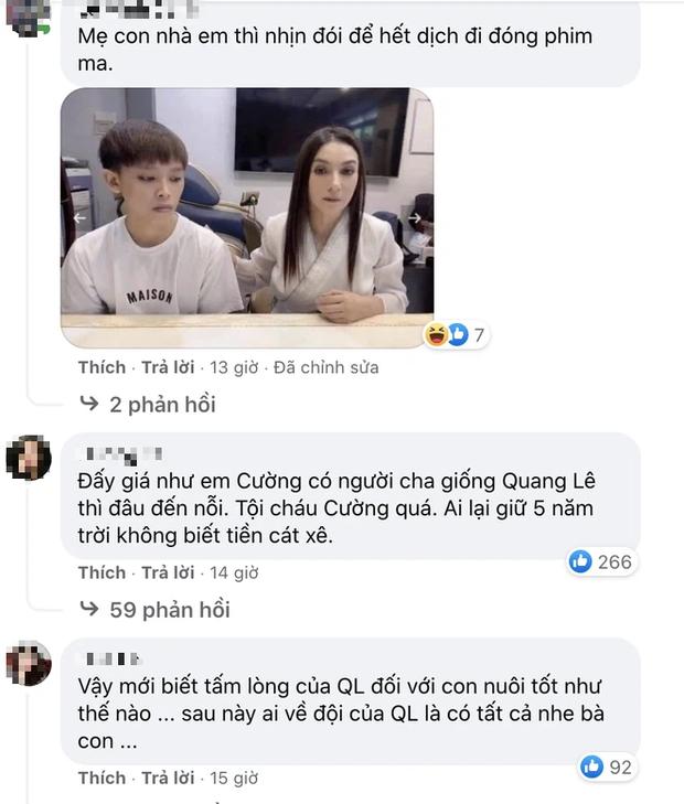Quang Lê đăng ảnh cực tình cảm với con nuôi Phương Mỹ Chi, netizen spam ngay ảnh Phi Nhung và Hồ Văn Cường nhằm so sánh 1 điều!-2