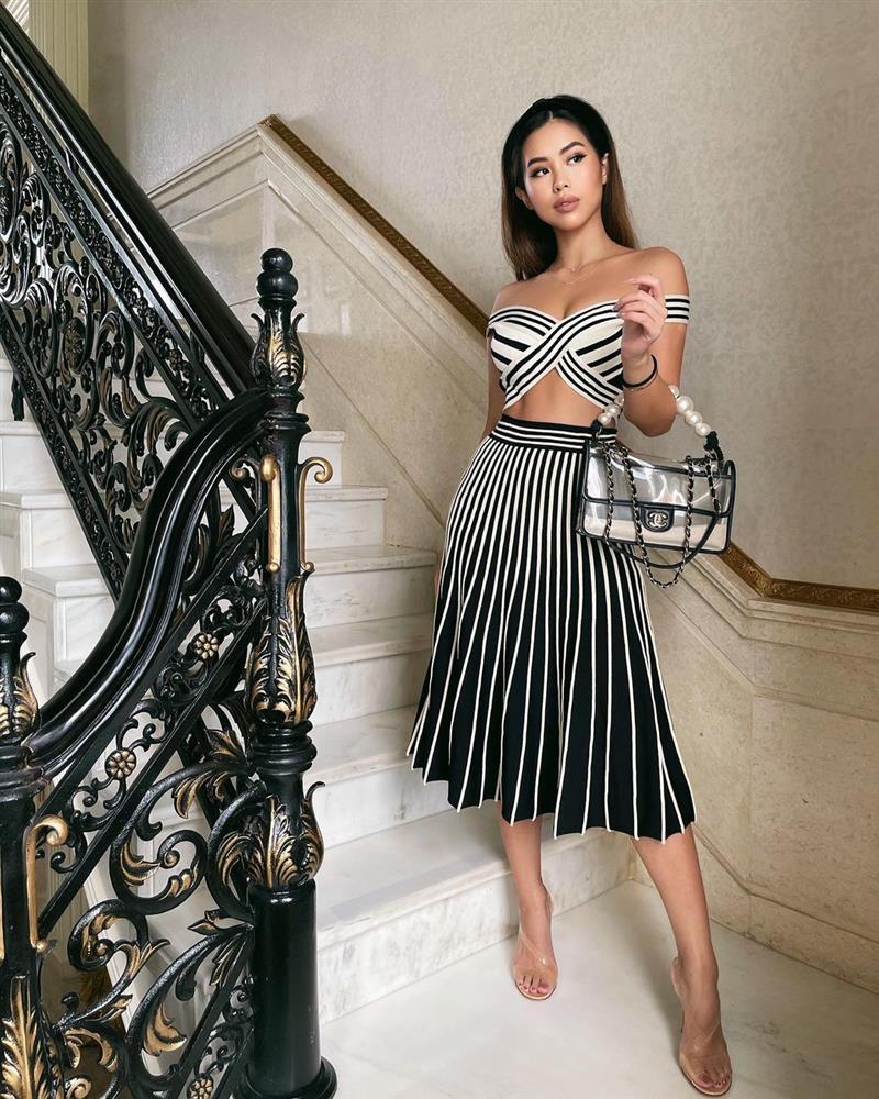 Đẳng cấp thời trang của em chồng Hà Tăng: Diện loạt váy áo cắt xẻ táo bạo đến màu mè rối mắt mà vẫn sang vô cùng-1