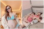 Nữ diễn viên Hướng dương ngược nắng: Bầu xinh hết nấc, đẻ xong nhìn xuề xòa đúng chuẩn mẹ bỉm sữa