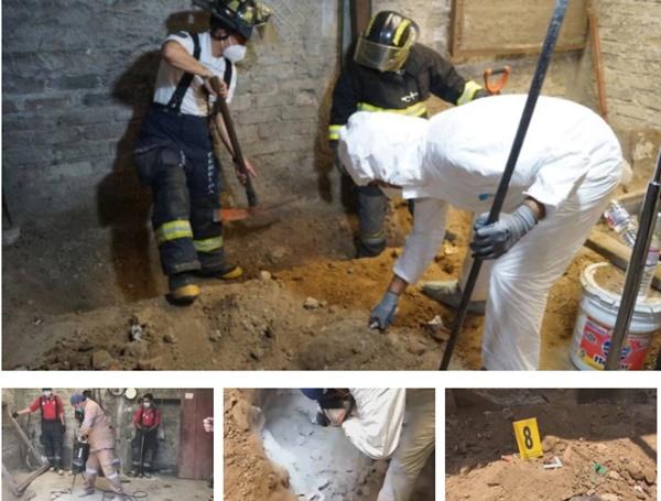 Đến xét nhà nghi phạm giết người, cảnh sát tìm thấy hơn 3.000 mẩu xương người chôn dưới sàn, phanh phui tội ác ghê tởm của gã đàn ông bán thịt-3