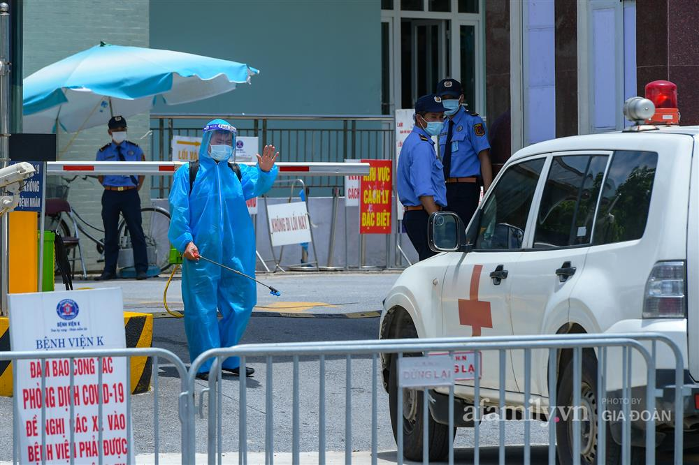 Bệnh viện K cơ sở Tân Triều dỡ phong tỏa sau 37 ngày-2
