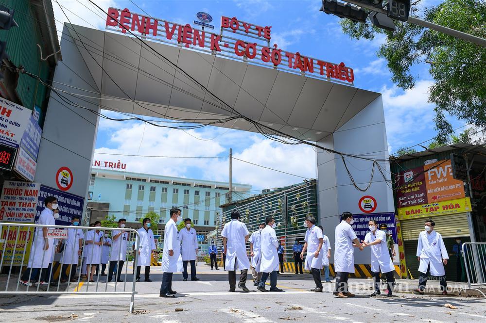 Bệnh viện K cơ sở Tân Triều dỡ phong tỏa sau 37 ngày-3