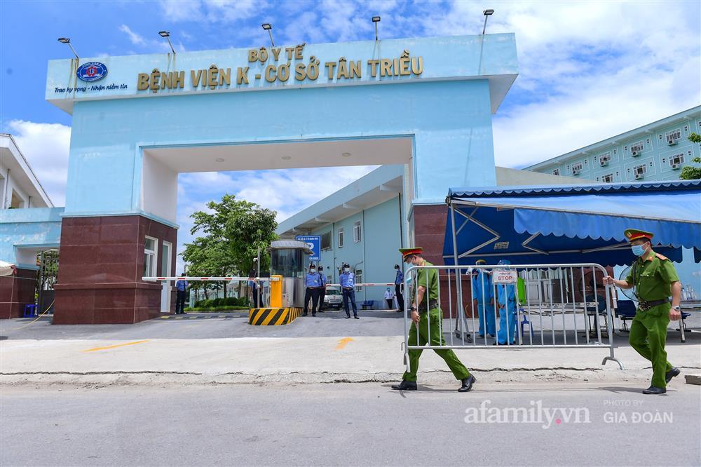 Bệnh viện K cơ sở Tân Triều dỡ phong tỏa sau 37 ngày-11